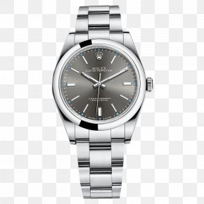 Gray Rolex Watch Male Table - Rolex Datejust Automatic Watch Rolex Oyster PNG