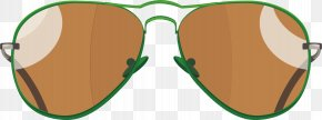 Brown Sunglasses Vector - Goggles Sunglasses Clip Art PNG