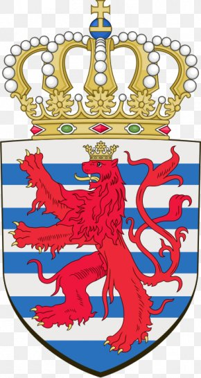 Coat Of Arms Of Luxembourg - Grand Ducal Palace, Luxembourg Grand Ducal Family Of Luxembourg Coat Of Arms Of Luxembourg Flag Of Luxembourg Politics Of Luxembourg PNG