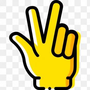 Gestures Collection - Middle Finger Ring Finger Hand Clip Art PNG