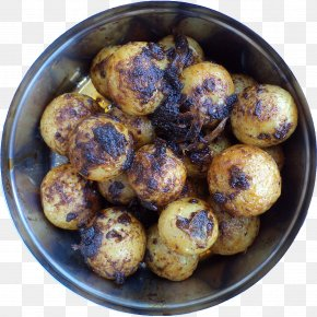 Potato - Potato Meatball Vegetarian Cuisine Recipe Food PNG