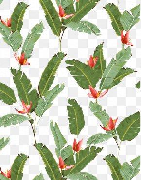 Bamboo Leaf Texture Material - Banana Leaf Banana Leaf Clip Art PNG