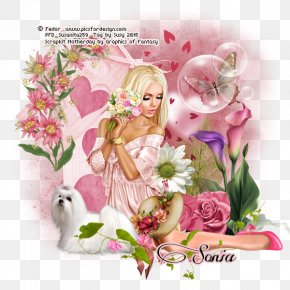 Fairy - Floral Design Fairy Easter Flowering Plant PNG