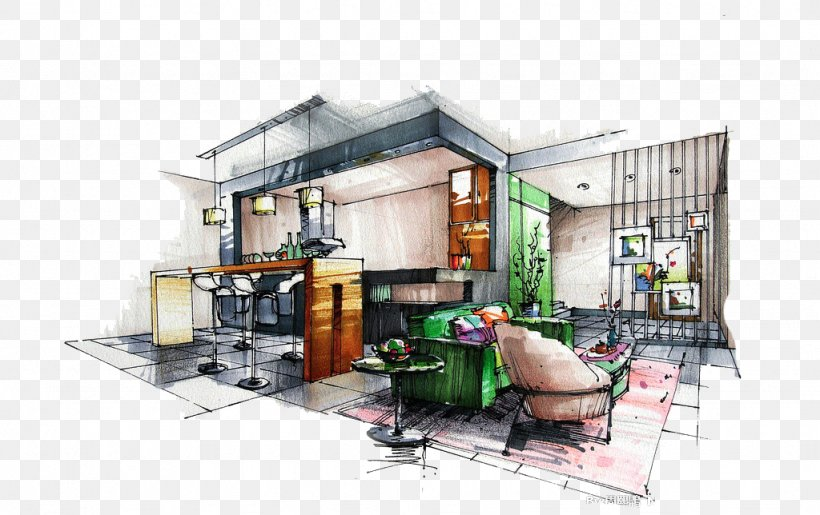 Drawing Architectural Rendering Interior Design Services Sketch Png 1024x644px 3d Computer Graphics Drawing Architectural Rendering Architecture,Small Home Interior Design Ideas