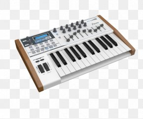 Musical Instruments - Arturia MIDI Keyboard MIDI Controllers Sound Synthesizers PNG