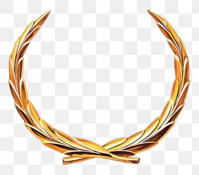 Olive Branch - Gold Icon PNG