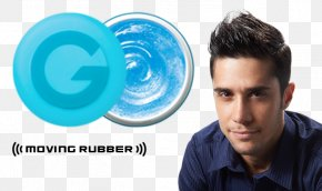 Hair - Hair Wax GATSBY Moving Rubber Spiky Edge Hair Styling Products Hairstyle Hair Gel PNG
