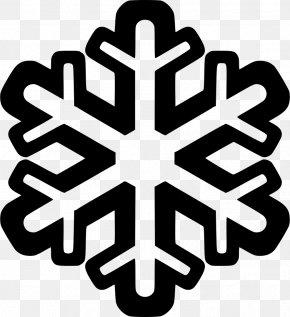 Snowflake - Coloring Book Snowflake Winter Clip Art PNG