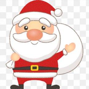Santa Claus - Santa Claus Christmas Day Reindeer クリスマスプレゼント Illustration PNG