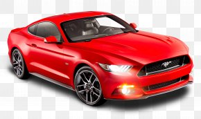 Ford Mustang Red Car - 2015 Ford Mustang GT Ford Mustang Mach 1 Ford S-Max Car PNG