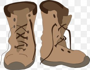 Vector Hand-painted Boots - Cowboy Boot Wellington Boot Shoe Clip Art PNG