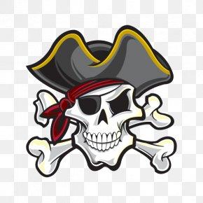 Skull - Skull & Bones Skull And Crossbones Piracy Human Skull Symbolism PNG