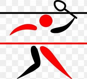Badminton - Olympic Games Badminton Logo Clip Art PNG