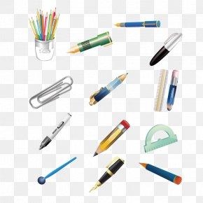 School Supplies - Pen Office Supplies Clip Art PNG