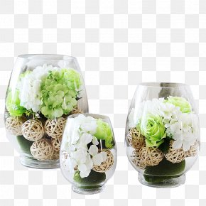Size Personality Glass Vase Material - Floral Design Vase Flower Glass PNG