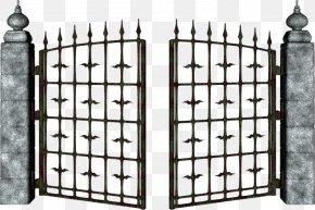 Open Door - Gate Clip Art PNG
