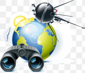 Satellite Space Telescope Elements - GPS Navigation Device Satellite Navigation Icon PNG