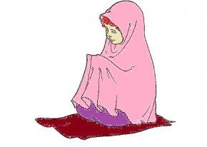 Muslim Praying Cliparts - Muslim Prayer Islam Quran Salah PNG