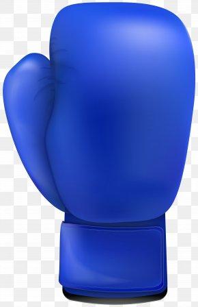 Blue Boxing Glove Clip Art - Boxing Glove Clip Art PNG