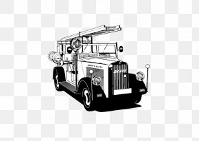 Black And White Truck - Car Black And White Truck Vehicle PNG