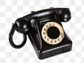Black Vintage Retro Phone - Telephone Call Rotary Dial Business Card Stock Photography PNG