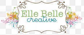 Chalk Boarder - Floral Design Brand Logo Font PNG