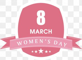 Women's Day Element - International Womens Day Woman Greeting Card Illustration PNG