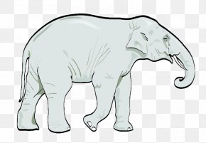 Elephants - Clip Art Vector Graphics African Elephant Euclidean Vector Elephants PNG