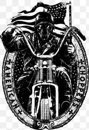 European And American Style T-shirt Prints - Printed T-shirt Hoodie Motorcycle PNG