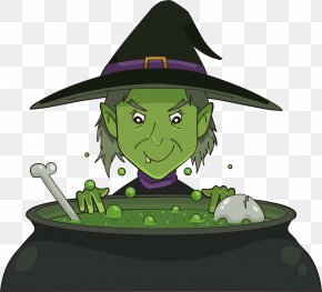 Green Magic Potion Witch - Witchcraft Magic PNG