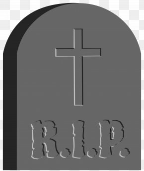 Halloween RIP Tombstone Clip Art Image - Halloween Witch Clip Art PNG