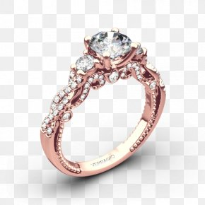 Engagement Ring - Wedding Ring Engagement Ring Jewellery Diamond PNG