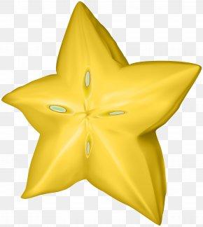Carambola Star Fruit Clip Art Image - Carambola Fruit Clip Art PNG