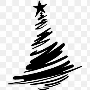 Black Christmas Tree - Christmas Tree PNG