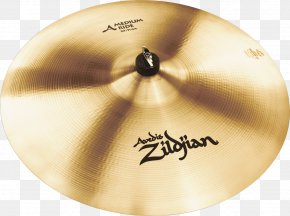 Ride Cymbal - Avedis Zildjian Company Crash/ride Cymbal Drums PNG