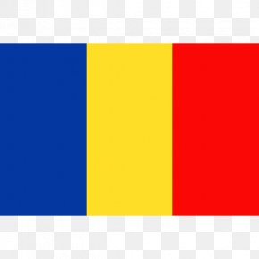 Flag - Flag Of Romania Flag Of Chad National Flag PNG