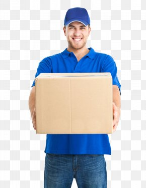 While Carrying Foreign Workers Picture Box - Delivery Man Pizza Delivery Courier United Parcel Service PNG