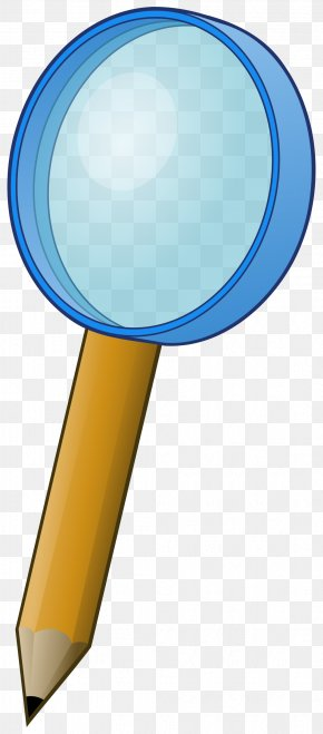 Loupe - Paper Magnifying Glass Pencil Clip Art PNG
