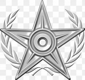 Silver HD - Wikipedia Barnstar Computer File PNG
