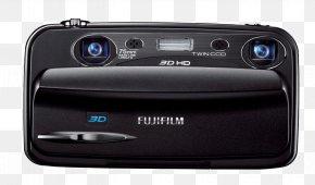 Camera - Camera Fujifilm 3D Film 富士 Zoom Lens PNG