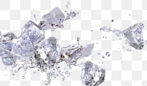 Ice Splashing Water Droplets - Drop Splash Water PNG