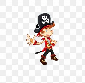 Cartoon Doll - Golden Age Of Piracy Royalty-free Illustration PNG