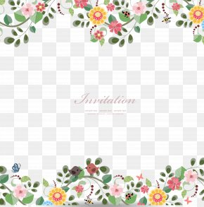 Flowers Border - Flower Stock Photography Clip Art PNG