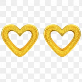 Gold Circle,Gold Circle - Earring Jewellery Gold Converse PNG
