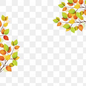 Autumn Poster Frame - Autumn Poster PNG