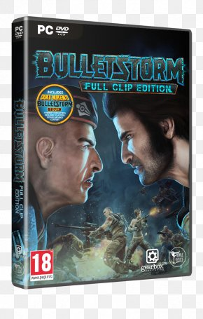 Bulletstorm EE684089 Video Game Xbox One PlayStation 4 PNG