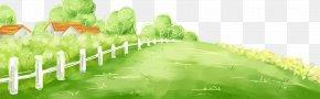 Fresh Grass Garden - Computer File PNG