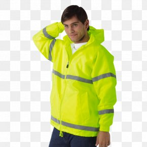 T-shirt - Raincoat T-shirt Hoodie High-visibility Clothing Jacket PNG