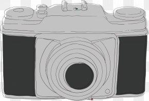 Vector Hand Drawing Camera - Digital Camera Drawing Euclidean Vector PNG
