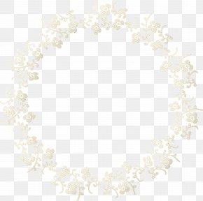 Silhouette Frame Border - Symmetry Pattern PNG